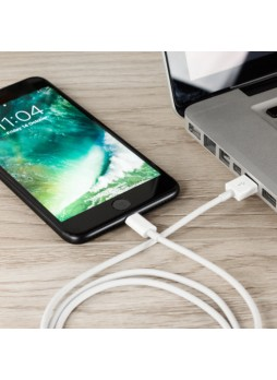GZLZZ Lightning Data/Charging Cable - White