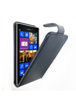 Synthetic Leather Flip Case for Nokia Lumia 1320 Black