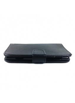 Synthetic Leather Wallet Case for Nokia Lumia 625 - Black