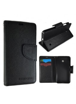 Wisecase Wallet Case for Lumia 630 Black