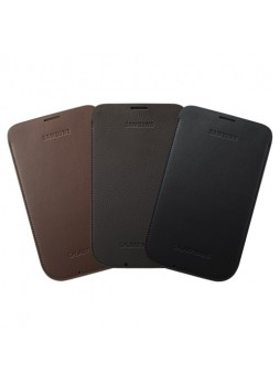 Original Samsung Galaxy Note 2 II Protective Pouch - Coffee