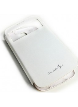 Flip Cover for Samsung Galaxy S4 i9500 - White