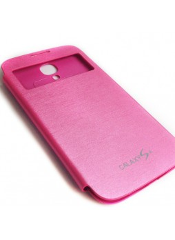 Flip Cover for Samsung Galaxy S4 i9500 - Pink