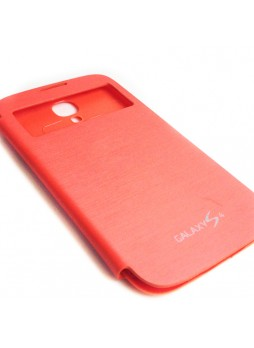 Flip Cover for Samsung Galaxy S4 i9500 - Orange