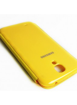Flip Cover for Samsung Galaxy S4 i9500 - Yellow