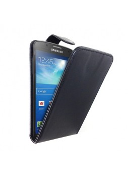 Synthetic Leather Flip Case for Samsung Galaxy S4 Active i9295 - Black