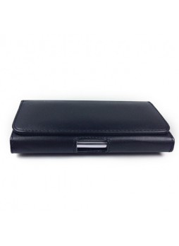 Synthetic Leather Side Pouch for Samsung Galaxy Note 3 N9000/N9005 - Black