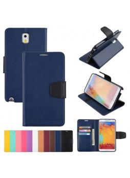Mercury Goospery Sonata Wallet Case for Samsung Galaxy Note 3 - Navy
