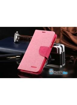 Mercury Goospery Fancy Diary Wallet Case for Samsung Galaxy S5 - Pink