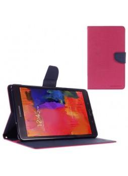 Mercury Goospery Fancy Diary Wallet Case for Samsung Galaxy Tab S2 8.0 Hot Pink