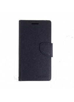 Mooncase Stand Wallet Case For Samsung Galaxy J2 - Black