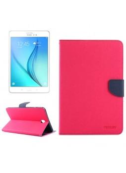 Mercury Goospery Fancy Diary Wallet Case for Samsung Galaxy Tab A 9.7 Pink
