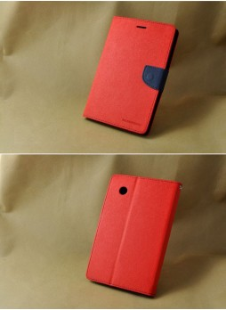 Mercury Goospery Fancy Diary Wallet Case for Samsung Galaxy Tab S2 8.0 Red
