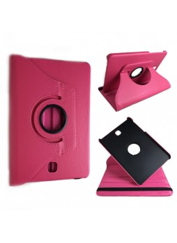 360 Degree Roatating Case for Samsung Galaxy Tab S2 8.0 Pink