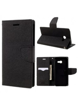 Mooncase Stand Wallet Case For Samsung Galaxy A5 2017 Black