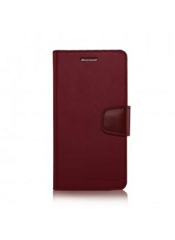 Korean Mercury Sonata Wallet Case for Samsung Galaxy Note 5 - Red