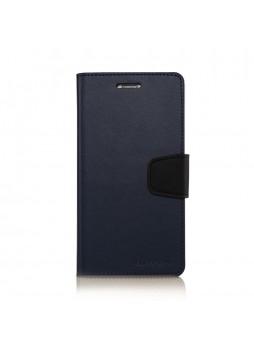 Korean Mercury Sonata Wallet Case for Samsung Galaxy Note 5 - Blue
