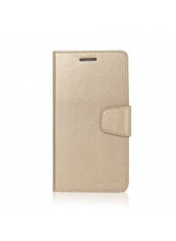 Korean Mercury Sonata Wallet Case for Samsung Galaxy Note 5 - Gold