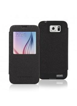 Korean Mercury WOW View Cover for Samsung Galaxy S6 Edge Plus Black