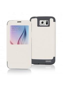 Korean Mercury WOW View Cover for Samsung Galaxy S6 Edge Plus White