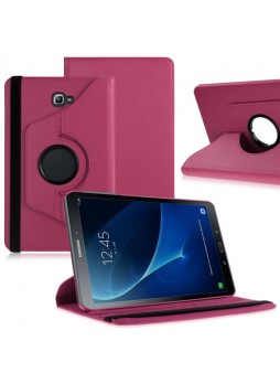 360 Degree Rotating Case For Samsung Galaxy Tab A 10.1 (2016) - Hot Pink