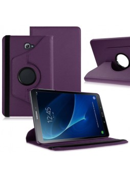 360 Degree Rotating Case For Samsung Galaxy Tab A 10.1 (2016) - Purple