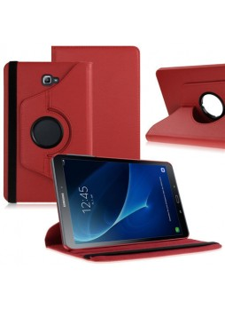 360 Degree Rotating Case For Samsung Galaxy Tab A 10.1 (2016) - Red