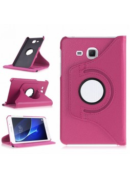 360 Degree Rotating Case For Samsung Galaxy Tab A 7.0 (2016) - Hot Pink