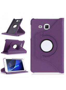 360 Degree Rotating Case For Samsung Galaxy Tab A 7.0 (2016) - Purple
