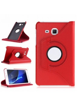 360 Degree Rotating Case For Samsung Galaxy Tab A 7.0 (2016) - Red