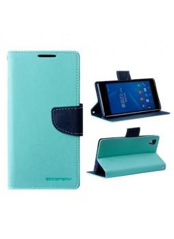 Mercury Goospery Fancy Diary Wallet Case for Sony Xperia Z2 - Green