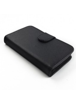 Synthetic Leather Wallet Case Cover for Sony Xperia E1