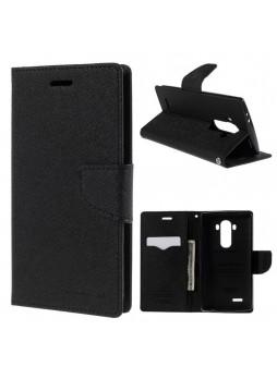 Korean Mercury Fancy Diary Wallet Case Cover for LG G5 Black
