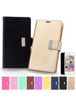 Mercury Goospery Rich Diary Wallet Case for iPhone 5 / 5S