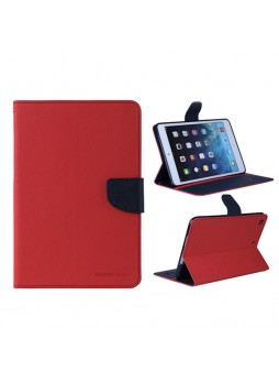 Korean Mercury Fancy Diary Case for iPad 2/3/4 - Red