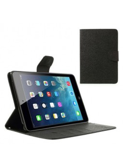 Mercury Goospery Fancy Dairy Case for iPad Mini / iPad Mini 2 - Black