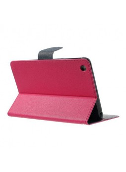 Mercury Goospery Fancy Dairy Case for iPad Mini / iPad Mini 2 - Hot Pink
