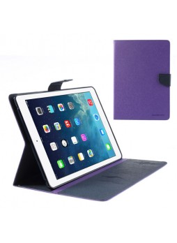Mercury Goospery Fancy Dairy Case for iPad Mini / iPad Mini 2 - Purple