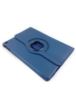 360 Degree Rotary Flip Case for iPad Air - Blue