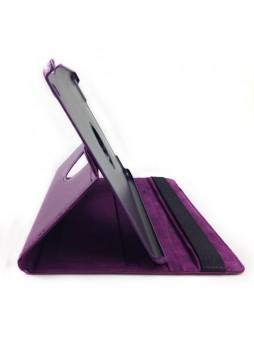 360 Degree Rotary Flip Case for iPad Air - Purple