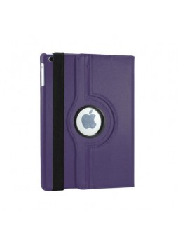 360 Degree Rotary Flip Case for iPad Air - Purple