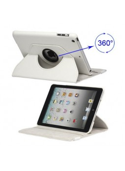 360 Degree Rotating Case for iPad mini / iPad mini 2 - White