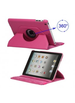360 Degree Rotating Case for iPad mini / iPad mini 2 - Hot Pink