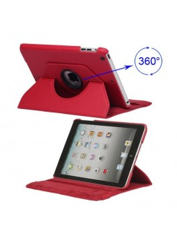 360 Degree Rotating Case for iPad mini 4 Red