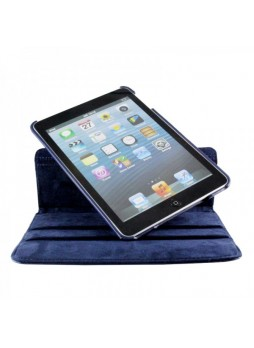 360 Degree Rotating Case for iPad mini / iPad mini 2 - Blue