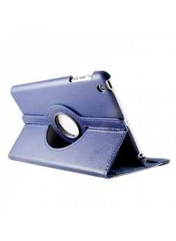 360 Degree Rotating Case for iPad mini / iPad mini 2 - Blue