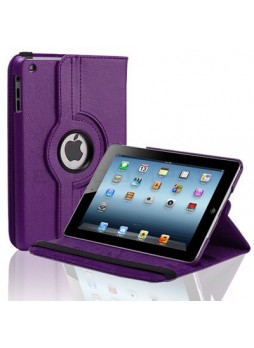 360 Degree Rotating Case for iPad mini / iPad mini 2 - Purple