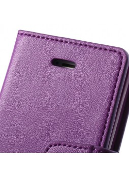 iPhone 6 Korean Mercury Sonata Diary Wallet Case - Purple