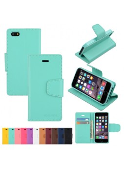 iPhone 6 Korean Mercury Sonata Diary Wallet Case - Green