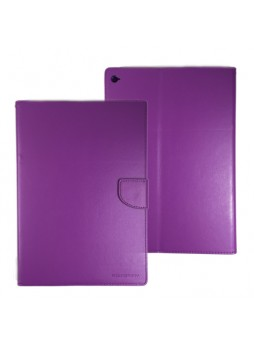 Wallet Case Cover for iPad Air 2 Purple